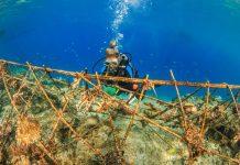 artificial reef gili islands