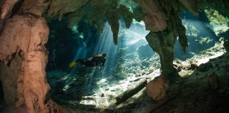 cavern diving differs from cave diving