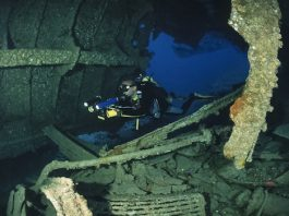 scuba dive site Sudan  wreck of the umbria
