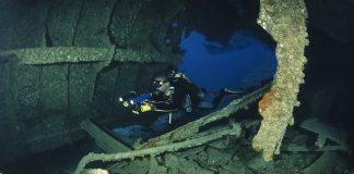 scuba dive site Sudan  wreck of the umbria