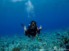 scuba diver phillpines