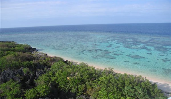View from Apo Reef Lighthouse