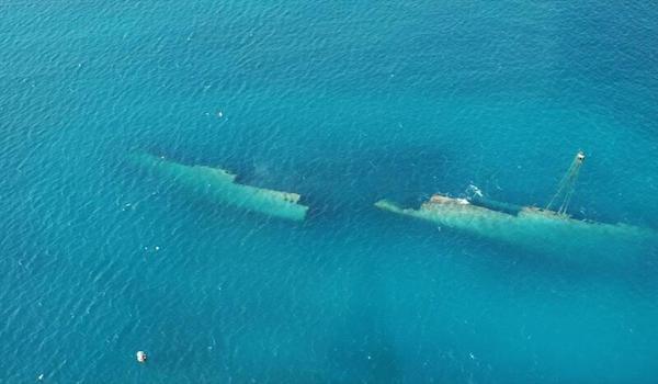 antilla wreck aruba