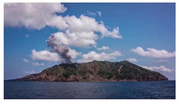 barren island active vulcano