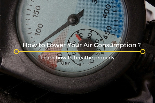 lower air consumption
